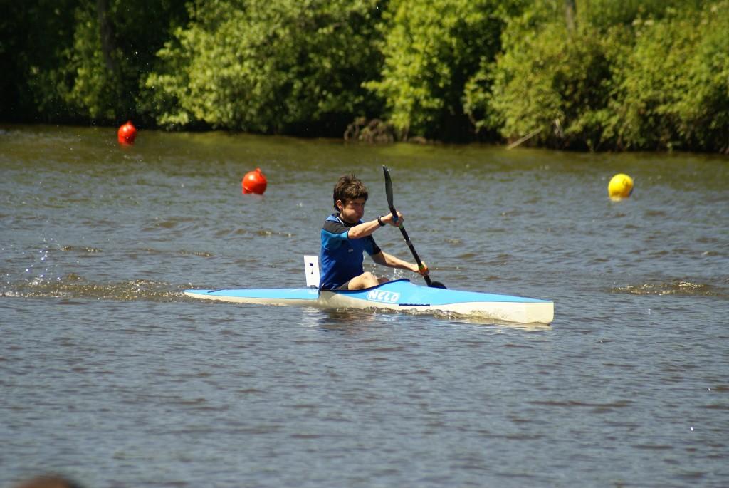 Championnats des Côtes d'Armor de kayak course en ligne Fond et Sprint - Mevenig Robert