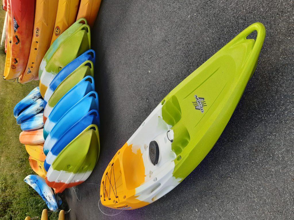 Kayak monoplace sit-on-top